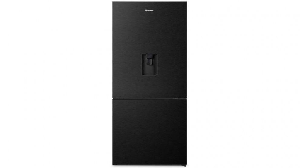 518L Bottom Mount Refrigerator - Black Steel