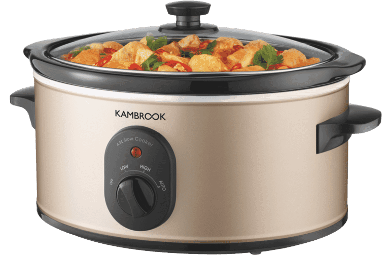 4.5L World of Flavours Slow Cooker - Champagne