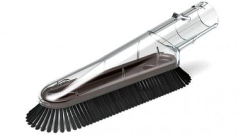 Soft Dusting Brush Vacuum Tool - Black