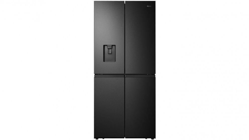 507L French Door Fridge w/ Non Plumbed Water - Dark S/S