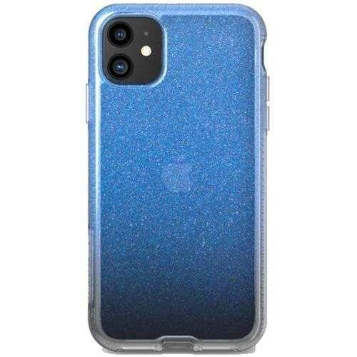 """Tech21 Pure Shimmer Case Apple iPhone 11 (6.1"""") Blue"""