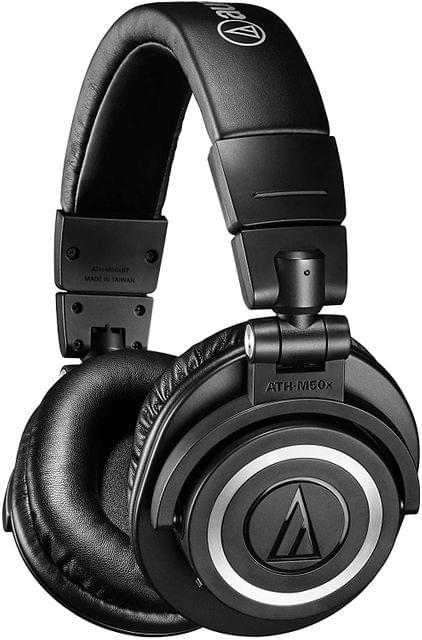 Audio Technica M50X Over-Ear Bluetooth Wireless Headphones - Black