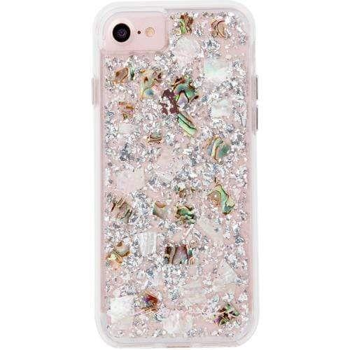 Case-Mate - Karat Case - Mother of Pearl - iPhone 6 / 7 / 8 - Pearl