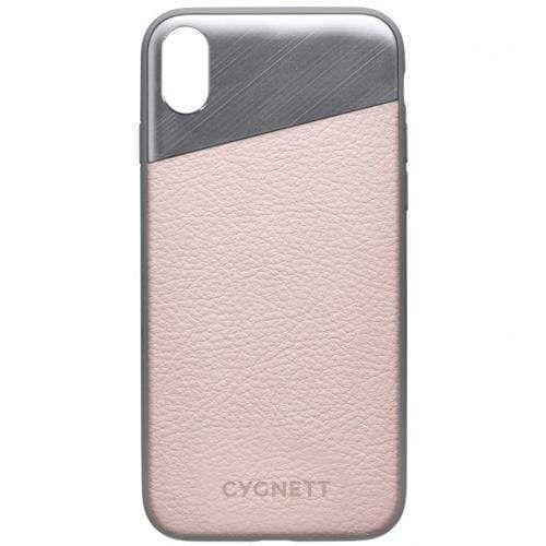 CYGNETT - Element Leather Case - iPhone X / XS - Pink Sand
