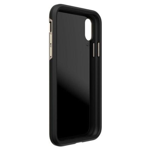 EFM Verona D3O Case Armour iPhone X/XS Gold/Leather