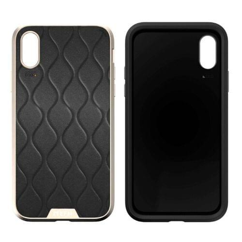 EFM Verona D3O Case Armour iPhone XS MAX Gold/Leather
