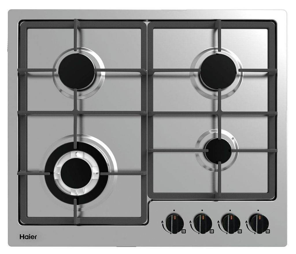 HAIER 60cm 4 Element Black Glass Cooktop
