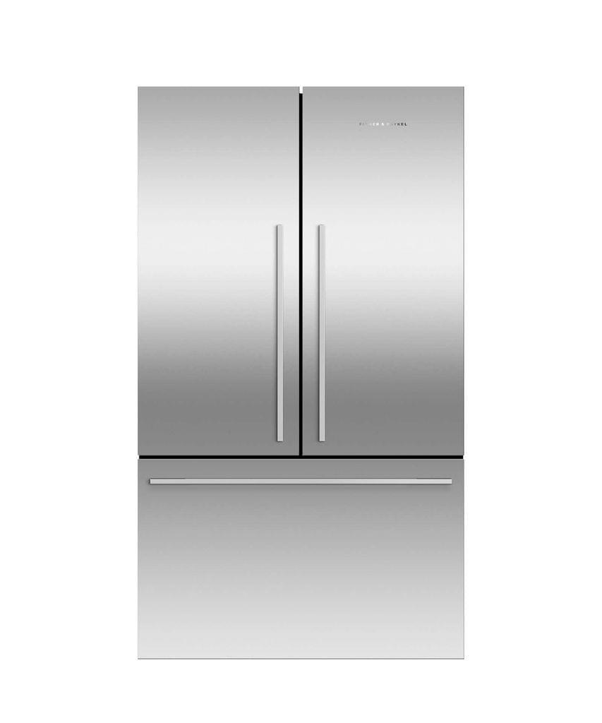 F&P 614L French Door Fridge Ice & Water 3.5 Energy S/S