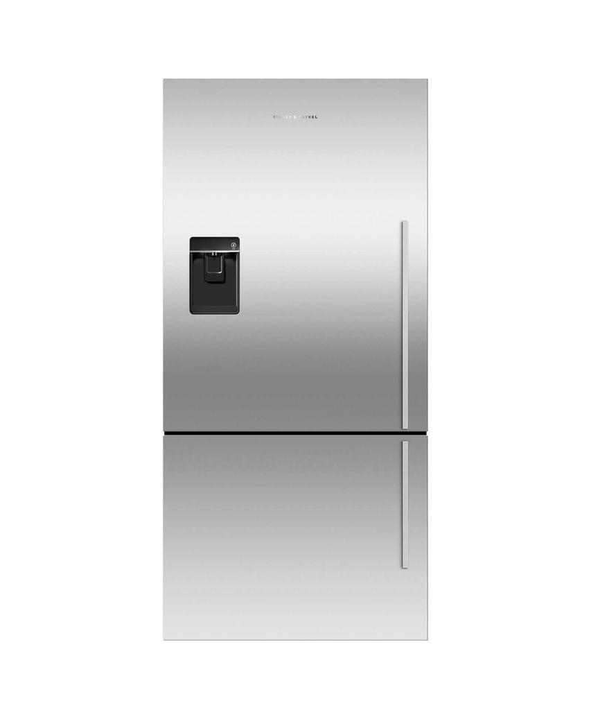 F&P 519L French Door Fridge Ice & Water 3.5 Energy S/S
