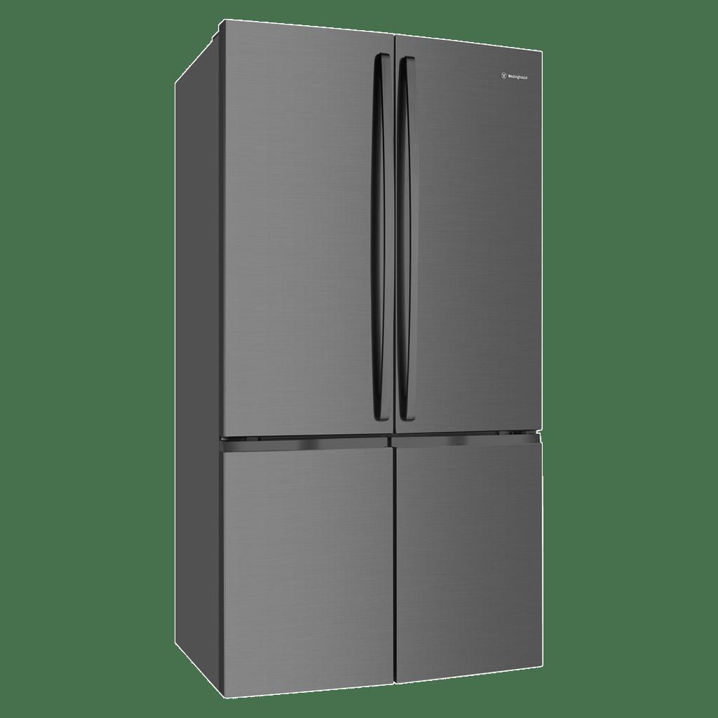 910L French Door Fridge Matte Black Stainless Steel
