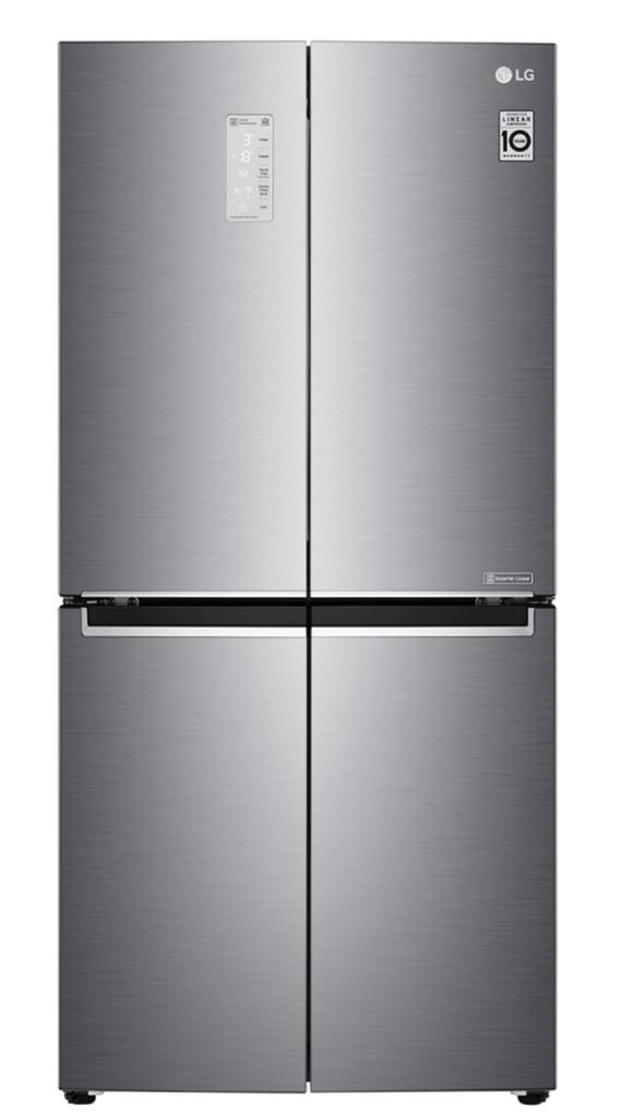 LG 570L Slim French Door Fridge InstaView Matte Black