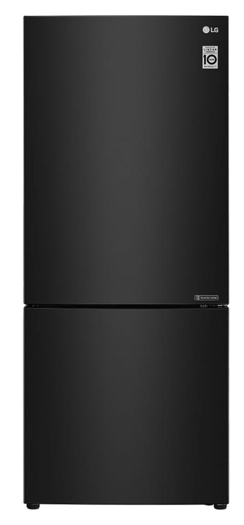 LG 454L Bottom Mount Fridge w/ Door Cooling Matte Blk