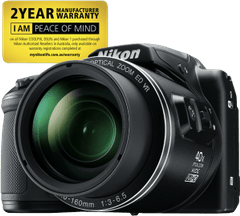 NIKON Coolpix B500 Black Digital Camera