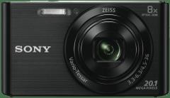 SONY Cybershot W830 Black Digital Camera