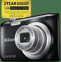 NIKON Coolpix A10 Black Digital Camera