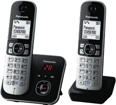 PANASONIC Cordless 6822 Phone Twin Pack