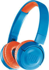 JBL JBL JR300 Kids On Ear BT Headphone - Blue & Orange