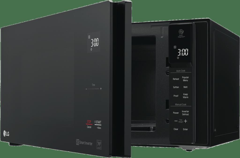 LG 25L 1100W Black Microwave