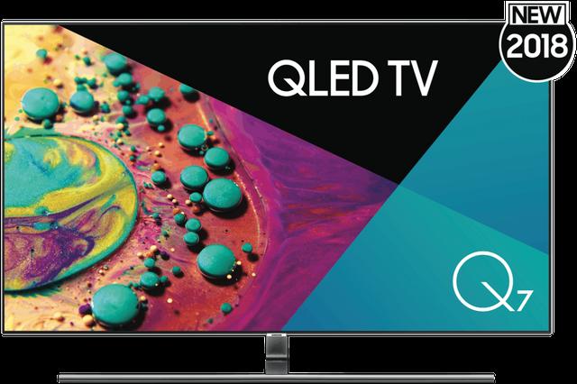 "SAMSUNG 55""(140cm) QLED UHD Smart TV"