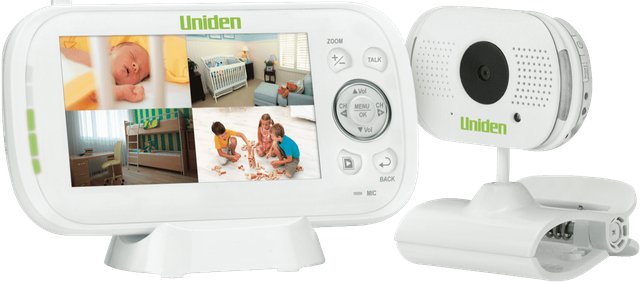 "UNIDEN Wireless Baby Monitor with 4.3"" Display"