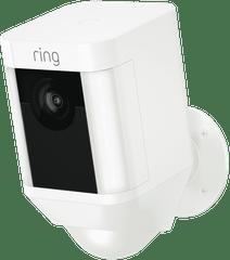 RING Spotlight Wi-Fi Battery Cammera - White