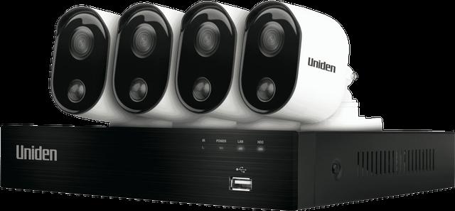 UNIDEN 1080P Smart WiFi CCTV Camera 2 Pack