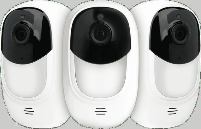 UNIDEN 1080P Smart WiFi CCTV Camera 3 Pack