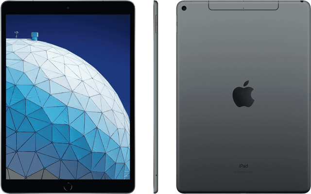 IPAD AIR 10.5-INCH WI-FI 64GB - SPACE GREY (3RD GEN) (MUUJ2X/A)