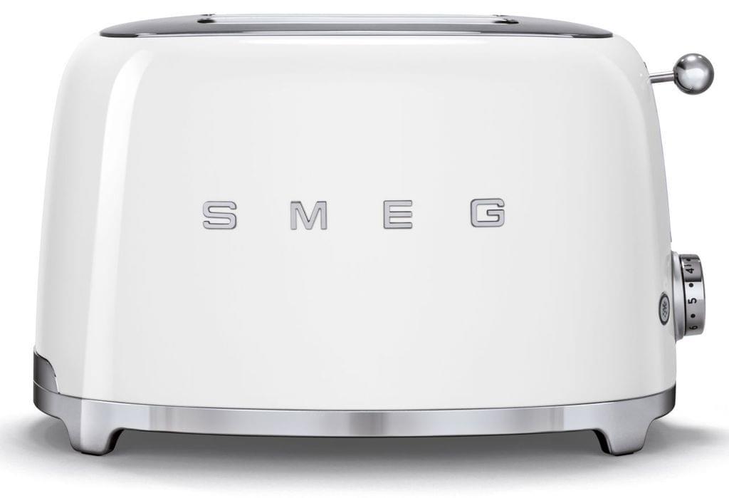SMEG 50's Style 2 Slice Toaster - White (TSF01WHAU)