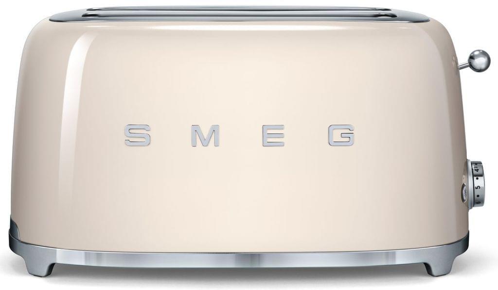 SMEG 50's Style 4 Slice Toaster - Cream (TSF02CRAU)