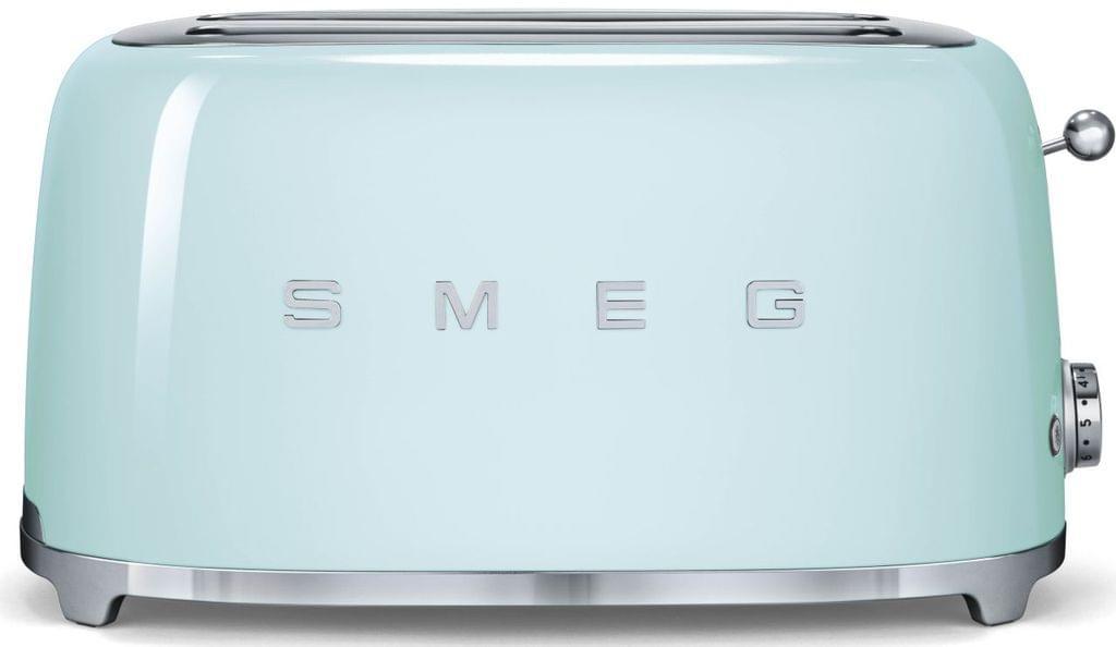 SMEG 50's Style 4 Slice Toaster - Pastel Green (TSF02PGAU)