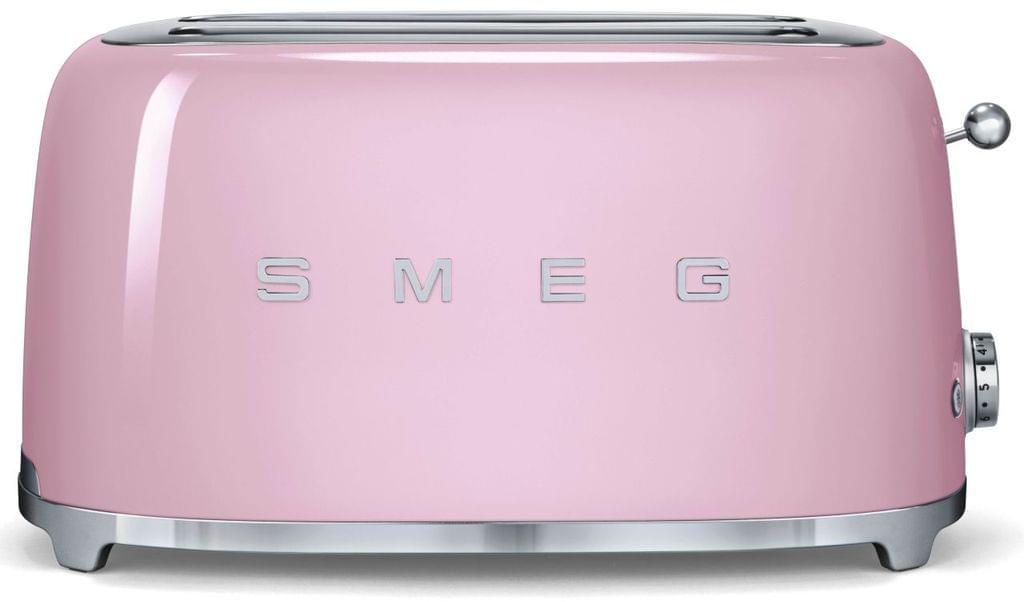SMEG 50's Style 4 Slice Toaster - Pink (TSF02PKAU)