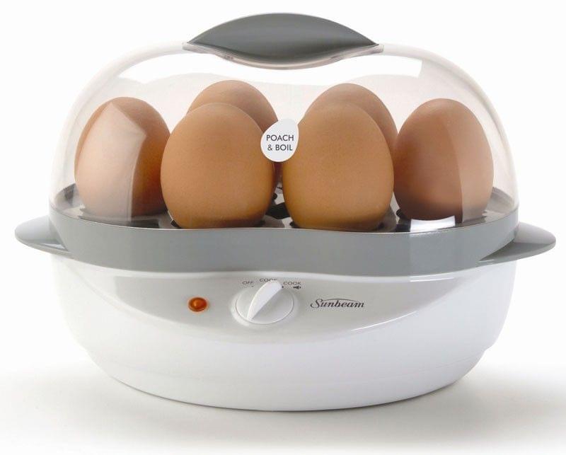 SUNBEAM Poach & Boil Egg Cooker - White (EC1300)
