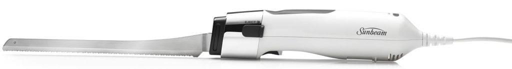SUNBEAM Carveasy Twin Blade Electric Knife - White (EK6000)