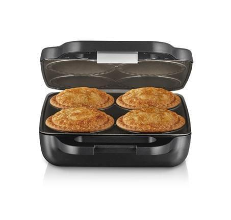 SUNBEAM Pie Magic Traditional Size 4 Up Pie Maker - Grey (PM4800)