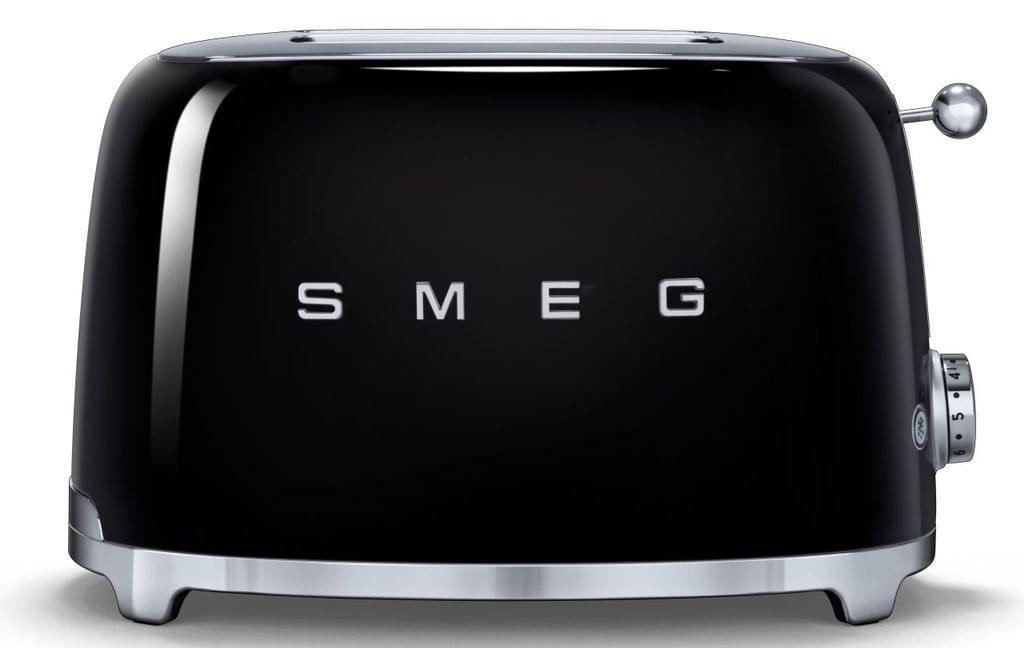 SMEG 50's Style 2 Slice Toaster - Black (TSF01BLAU)