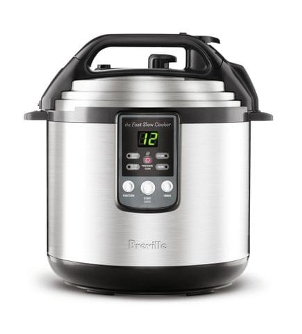 BREVILLE The Fast Slow Cooker - Stainless Steel