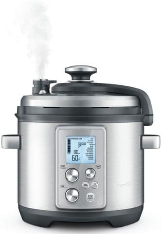 BREVILLE The Fast Slow Pro Slow Cooker - Stainless Steel