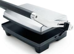 BREVILLE The Toast & Melt 2 Slice Sandwich Press - Stainless Steel (BSG520)
