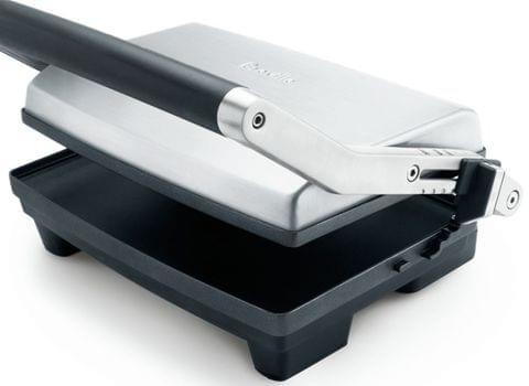 BREVILLE The Toast & Melt 2 Slice Sandwich Press - Stainless Steel (BSG520)