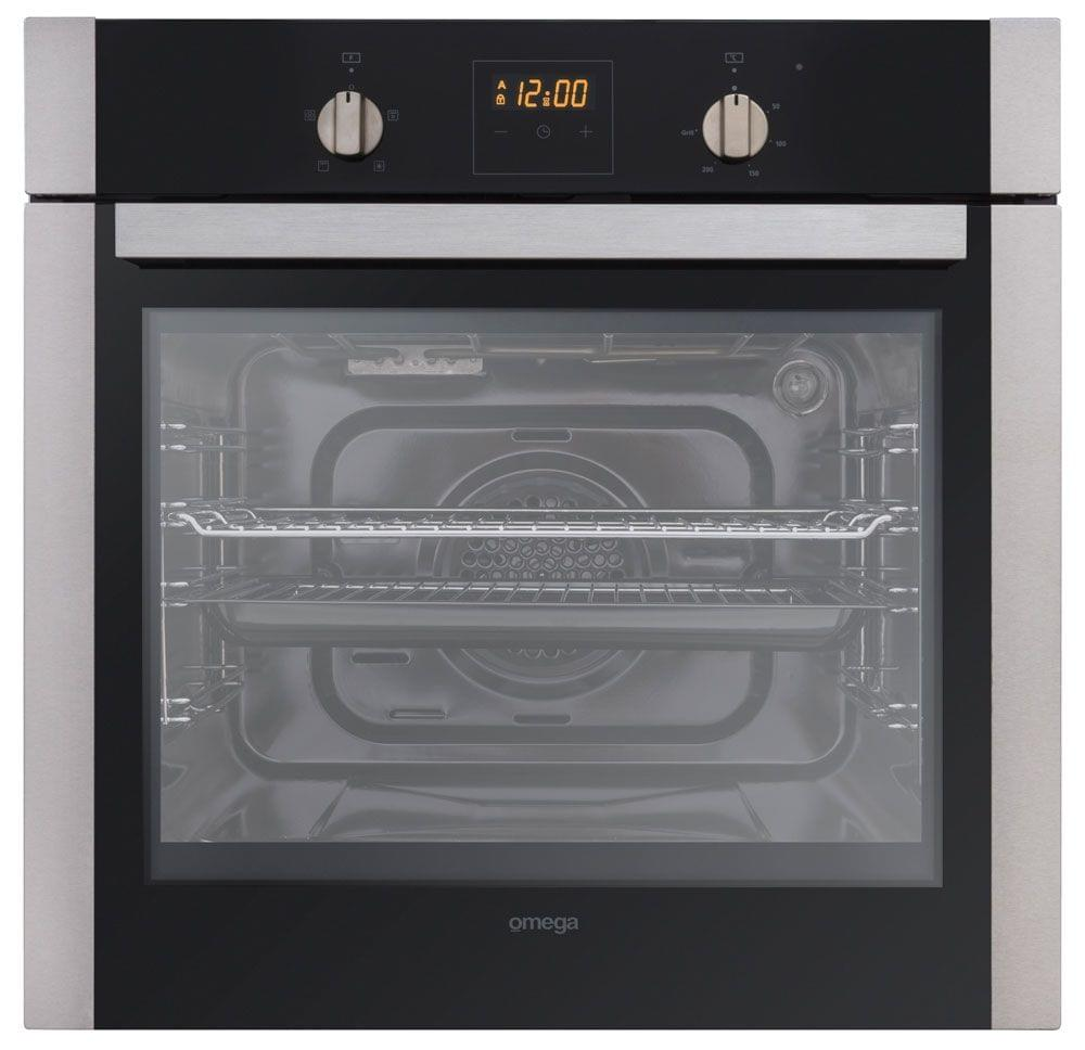 Omega 60cm 4 Function Oven W Touch Digital Timer Obo660x