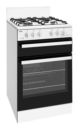 CHEF 54cm Freestanding Cooker NG - White