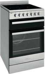 CHEF 54cm Electric F/F Oven Upright Seperate Grill Ceran (CFE547SB)
