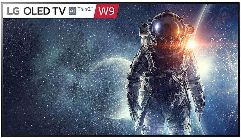 LG OLED 77������� TV w Design on wall, Alpha 9 Gen2 processor & Google Assistant�������