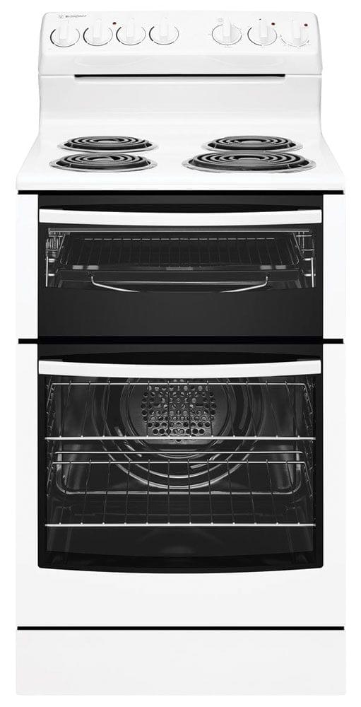 WESTINGHOUSE 54cm Freestanding Cooker Fan Forced Grill (WLE525WB)