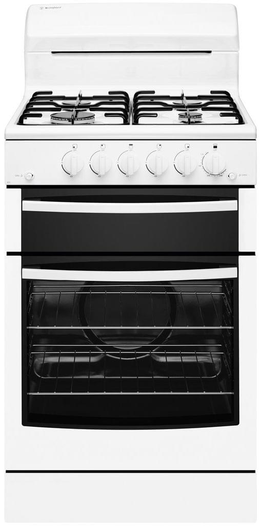 WESTINGHOUSE 54cm Gas Upright Cooker NG (WLG503WBNG)