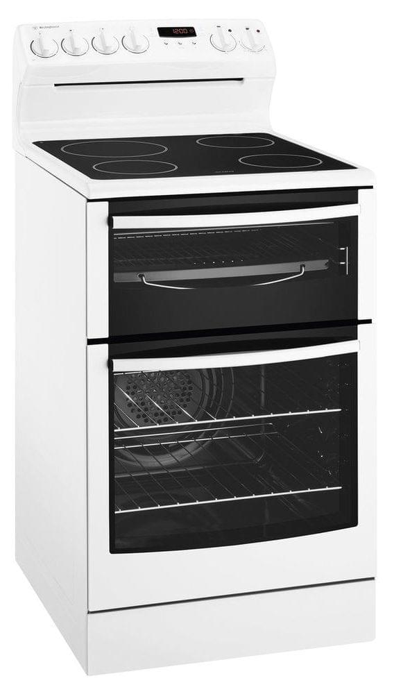 WESTINGHOUSE 54cm Freestanding w Ceran Top, Seperate Grill (WLE547WA)