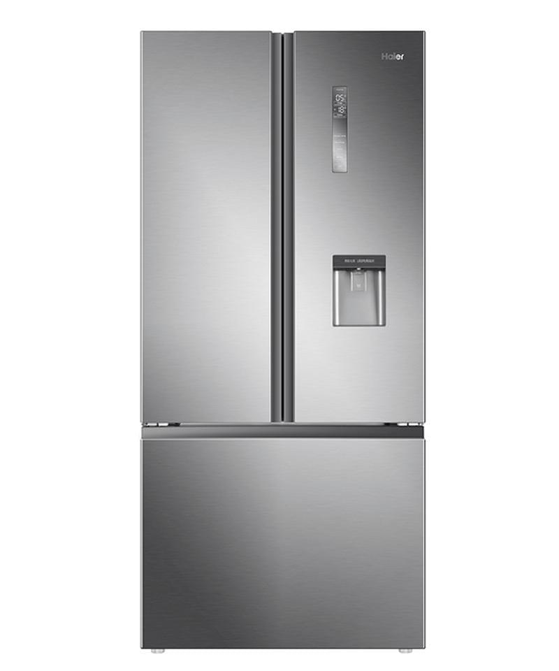 HAIER 514L French Door Fridge Water Dispenser Satina