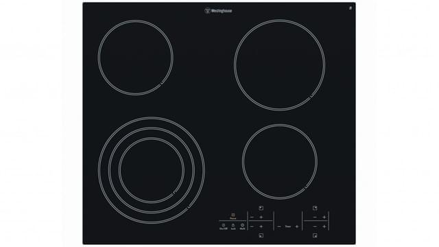 WESTINGHOUSE 60cm Ceramic Cooktop 4 Element Touch Control (WHC644BA)
