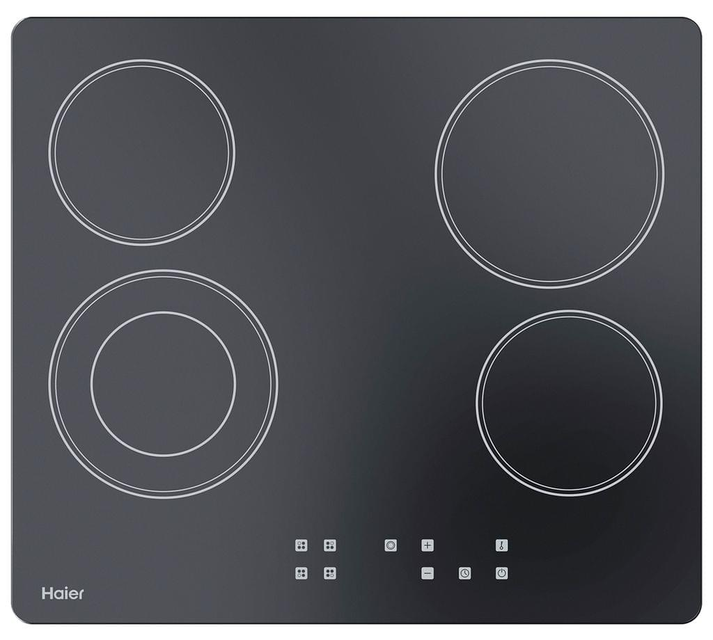 HAIER 60cm 4 Element Black Glass Cooktop (HCE604TB2)